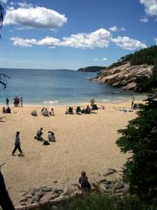Sand Beach, Mt. Desert Island, Maine