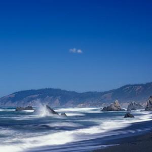 Van Damme Beach, Mendocino, California