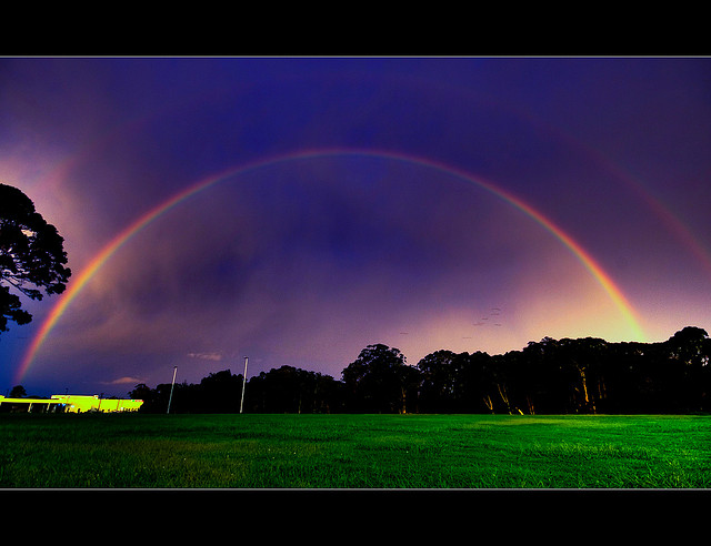 Rainbow photo by Kane Gledhill