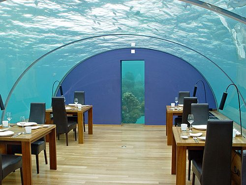 Sleep & Dine Underwater