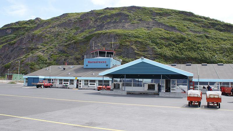 Narsarsuaq Airport in Greenland