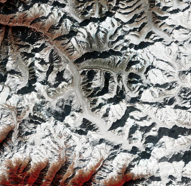 Gangotri Glacier in India