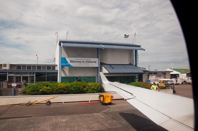 Gisborne Airport in New Zealand