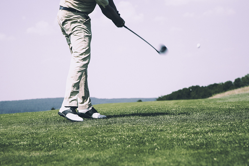 Playing the Golf