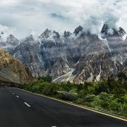 Karakoram Highway in Pakistan