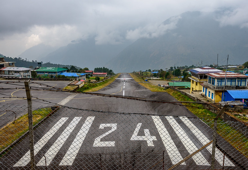 Lukla Airport in Nepal
