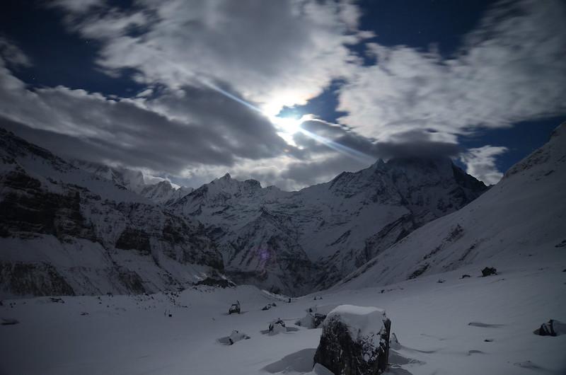 Mount Annapurna in Nepal
