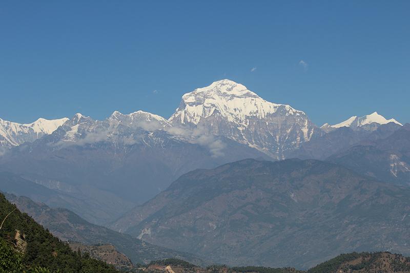 Dhaulagiri in Nepal