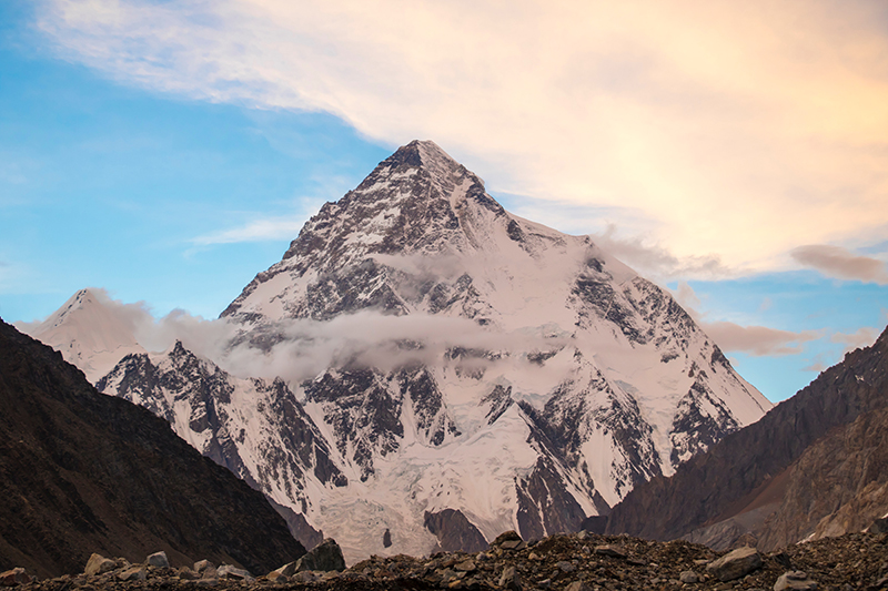 Mount K2 in Pakistan