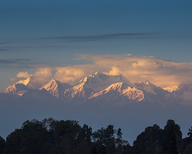 Kanchenjunga in India/Nepal