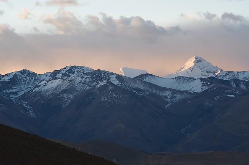Mount Makalu in Nepal