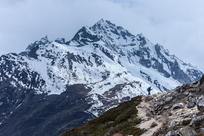 Mount Manaslu in Nepal