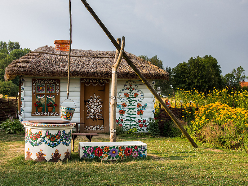 Zalipie, Poland