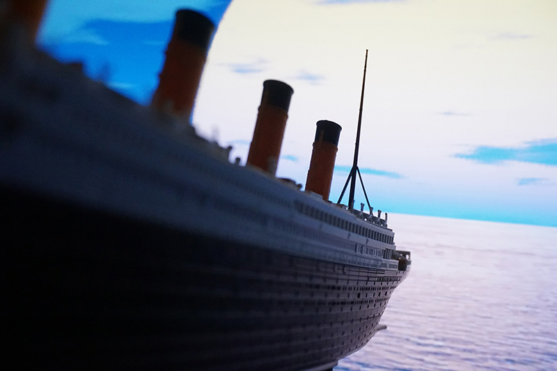 Titanic was literally Gigantic