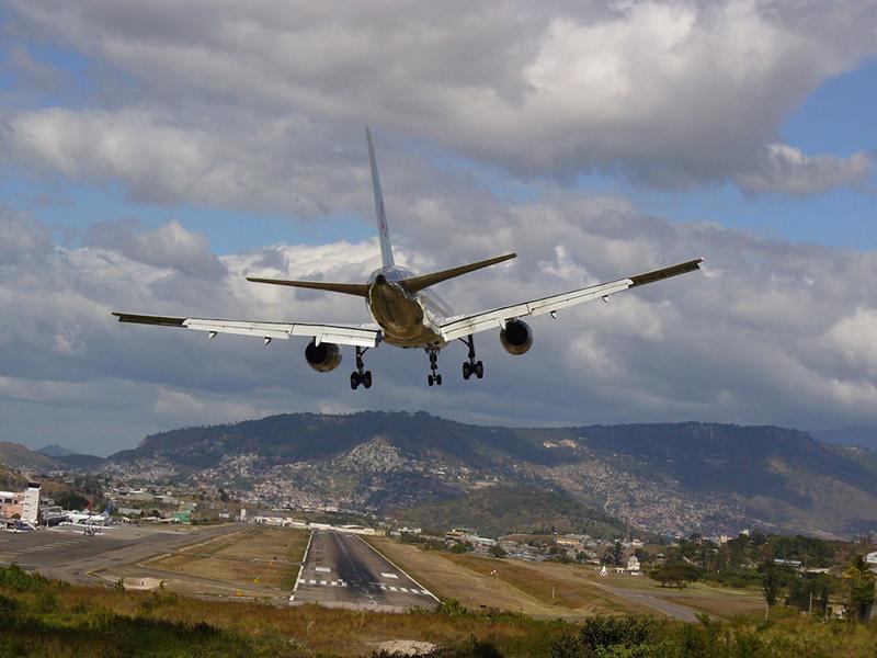 Toncontin Airport in Honduras