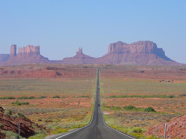 US Route 163 in Arizona