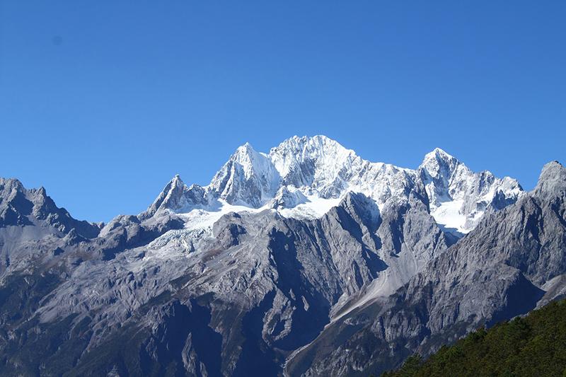 Yulong Glacier in China