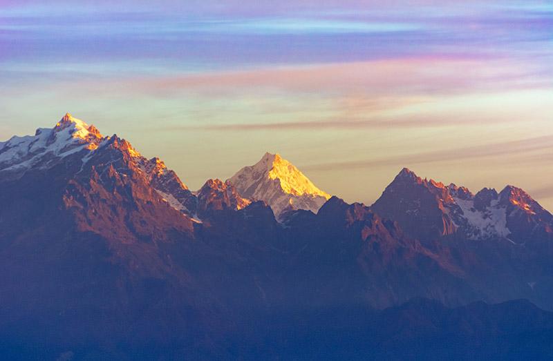 Kanchenjunga- The five treasure Mountain