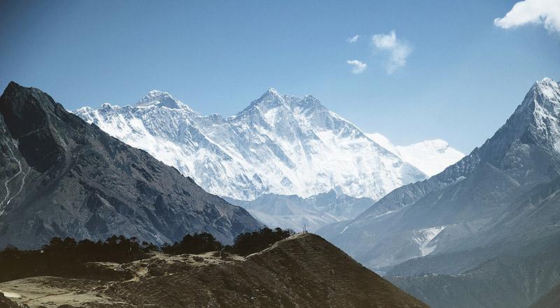 The Highest Mountain Peak- Mount Everest