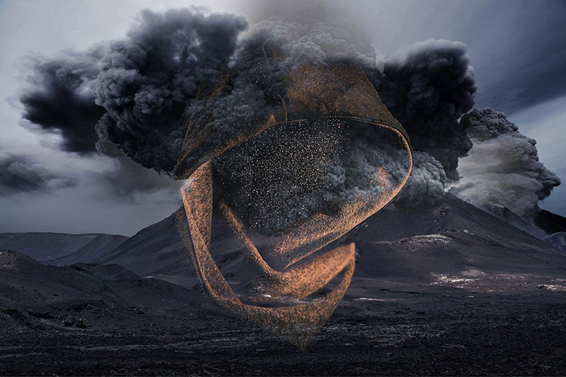 Volcanic Explosion in the Area