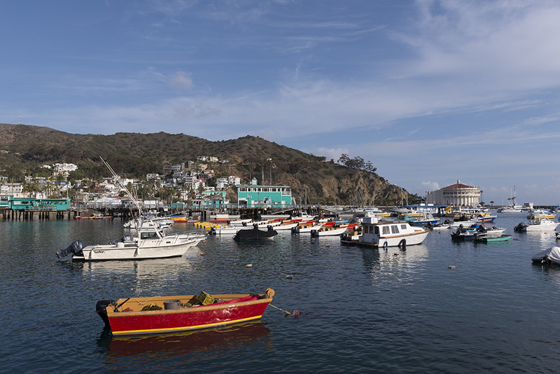 Santa Catalina, the series of Beaches