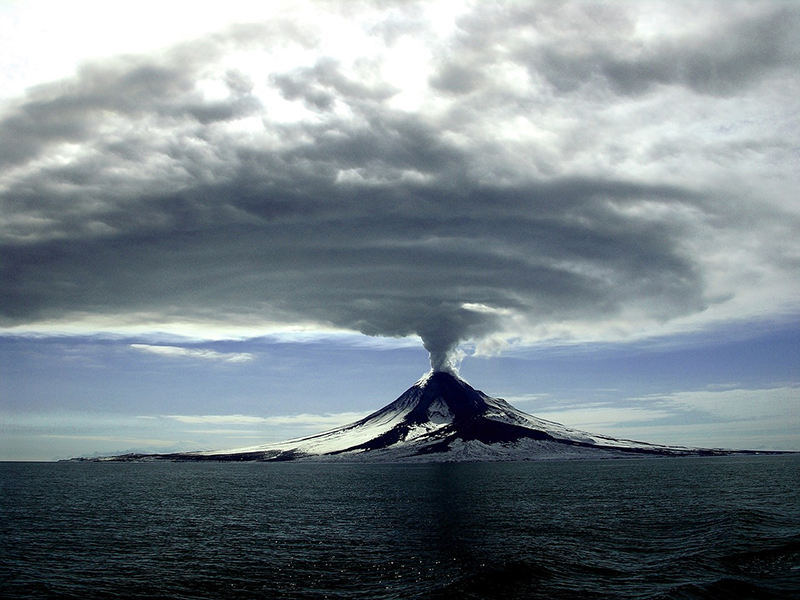 Augustine Volcano- Alaska