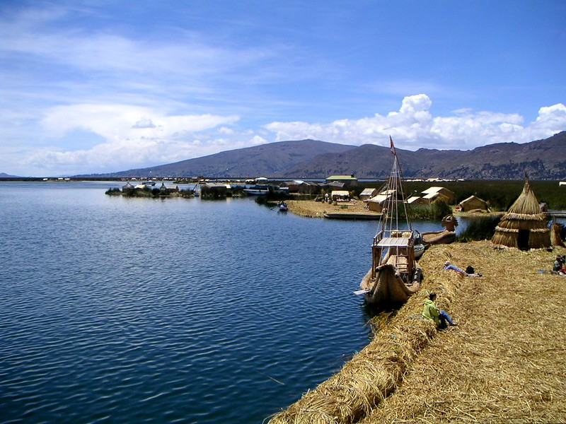 Floating Islands of Peru, Lake Titicaca