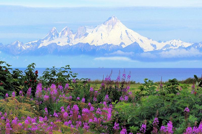 Iliamna Volcano- Alaska