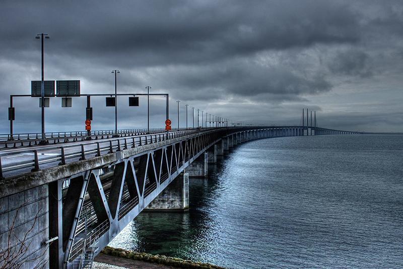 Peberholm, Öresund Strait