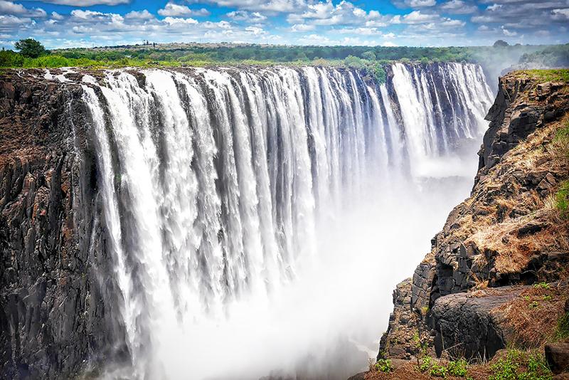 Victoria Falls, Zambia - Zimbabwe