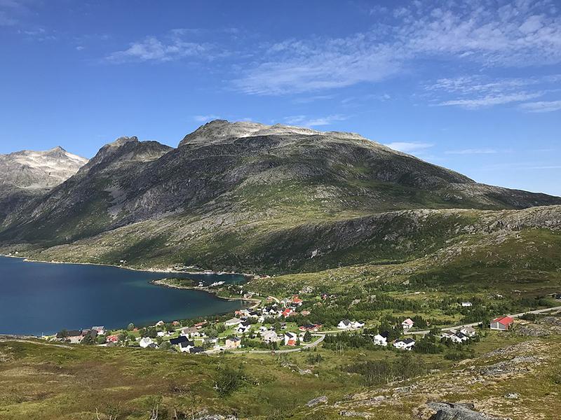 Ersfjordbotn village