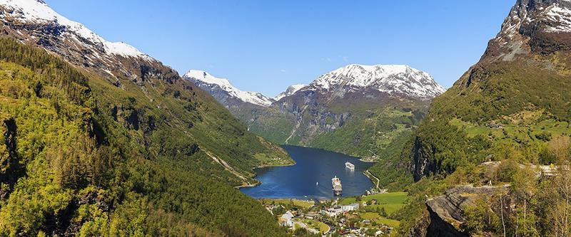Explore the Geirangerfjord region