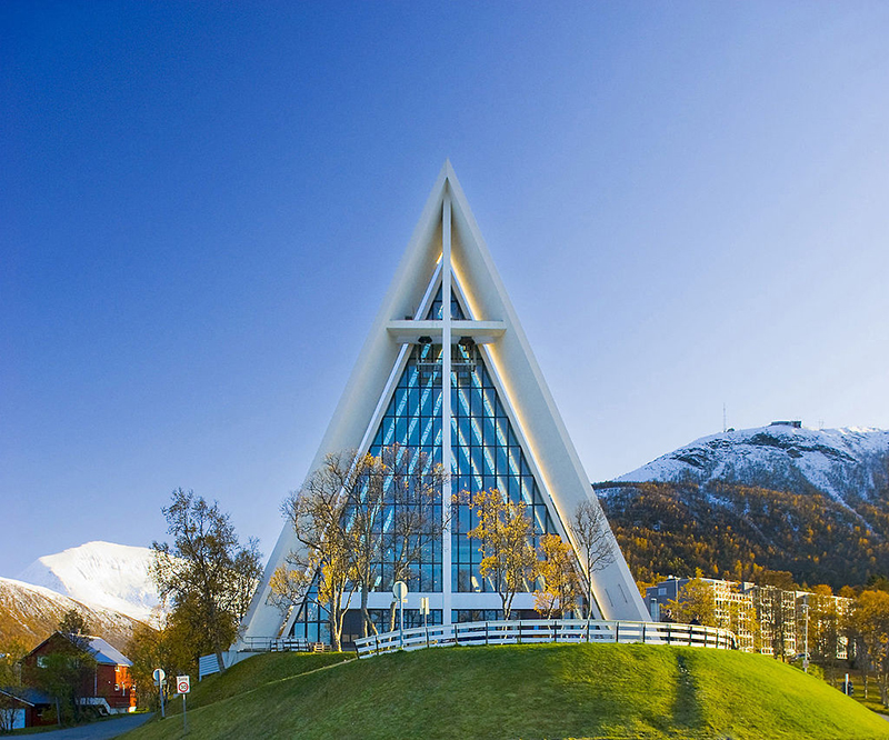 Marvel at the Arctic Cathedral