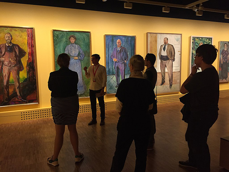 Paintings at Munch Museum