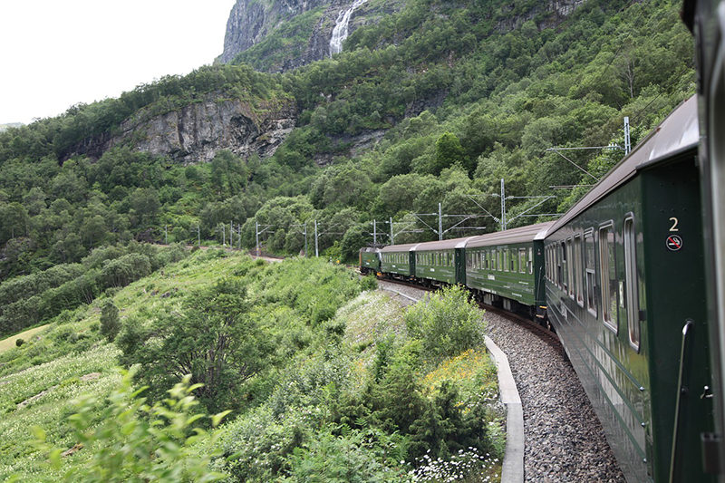 Take a train journey