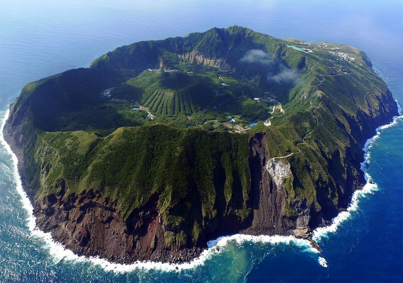The Volcanoes of Aogashima Island