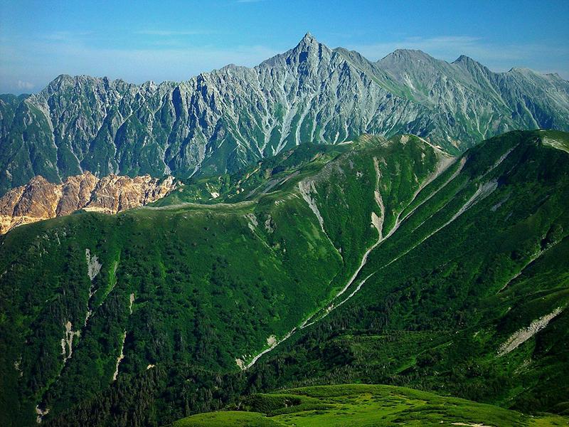 Views of Mount Yari